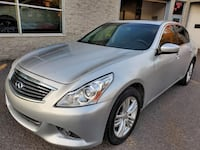 2011 INFINITI Berline G37 Luxury Montréal