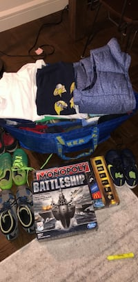 Boys clothes size 8/ shoes size 3 & 4 New York, 10009