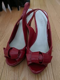 Nine West Red Size 7 Pumps  Toronto, M2M 1R1