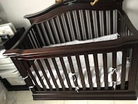 Baby's brown wooden crib Miami, 33196