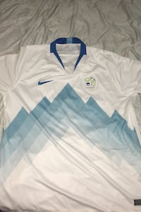 Xl men's large soccer jersey