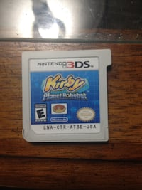 3DS Game Kirby Planet Robobot WINNIPEG