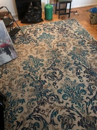 Large area rug with pad Lutherville Timonium, 21093