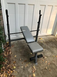 black and gray bench press West Columbia, 29169