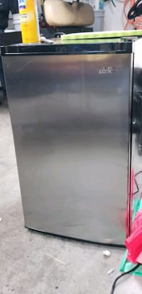 Upright Freezer 3 Cu Ft Compact  Stainles