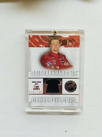 Dale Earnhardt collectible card