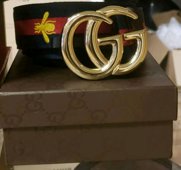 d2a725af843 Used Green and Red Gucci Belt w  Gold Buckle for sale in Largo - letgo
