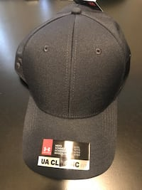 Black L/XL UNDER ARMOR FITTED HAT