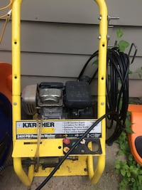 yellow and black KARCHER pressure washer Haverhill, 01835