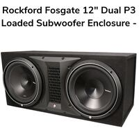 New Rockford fosgate p3 12 inch subs in box  best offer  Knoxville