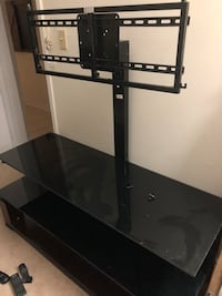 black wooden TV stand with mount Kitchener, N2P