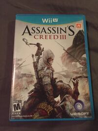 Assassins Creed III game  Cleveland, 74020