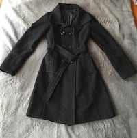 Trench-coat noir taille 34
