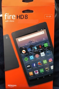 Fire HD 8 Tablet W/Alexa