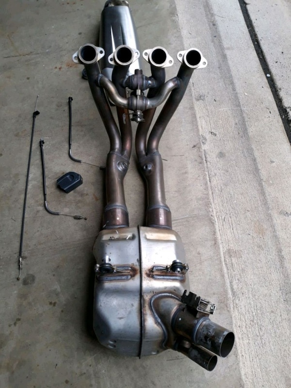 2018 s1000rr OEM exhaust system
