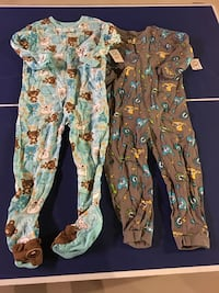 2 18-24month pjs brand new with tags  Calgary, T3K 4C8