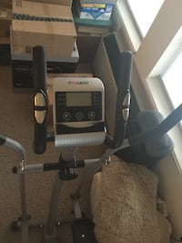 EFITMENT Compact Magnetic Elliptical Machine Trainer with LCD Monitor and Pulse Rate Grips  Sun Prairie, 53590