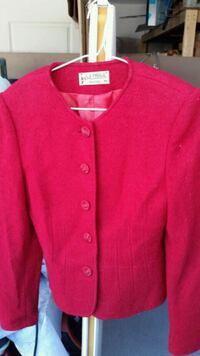red button-up cardigan Coquitlam, V3K