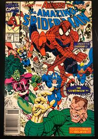 Marvel Comic - The Amazing Spider-Man Vol.1 No.348, June 1991. Mint condition
