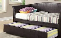 DAY BED ESPRESSO COLOR WITH MATTRESS