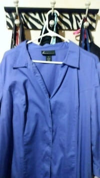 Brand New Blue Shirt Size 2x Kannapolis