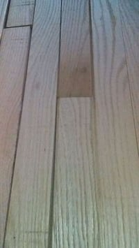 Oak hardwood floor, natural , not finished 539 km