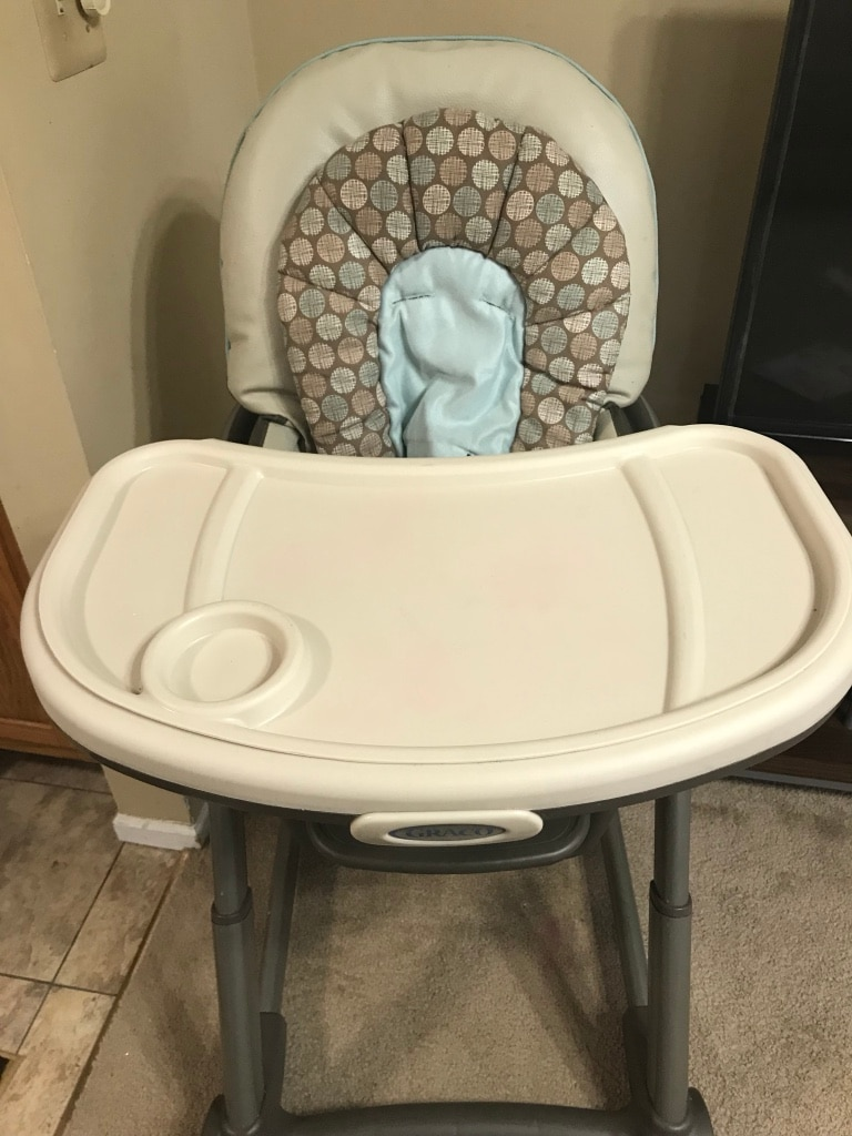 Used Graco High Chair With Booster Seat For Sale In Schaumburg   Letgo