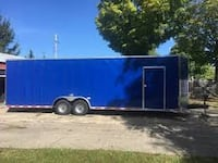 VNOSE ENCLOSED TRAILERS NEW 20FT 24FT 28FT 32FT RACE CAR TRUCK ATV