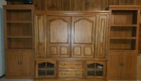 "68"" Walnut Entertainment Center Bonne Terre, 63628"