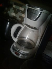 white and gray Black & Decker coffee maker Edmonton