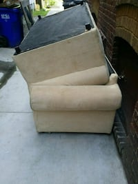 Free pull out sofa and love seat.  Norfolk, 23507