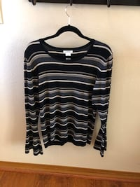 Women's Sweater Top, Long Sleeved: XL