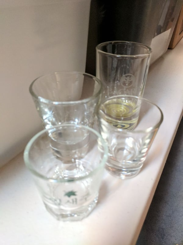 Shot glasses! Many available - name your price 0c07f392-7c4d-4924-bd5f-fd913deeb8d3