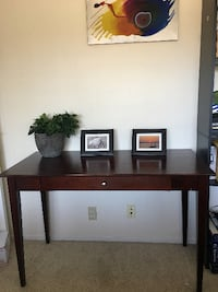 Solid wood desk side table $175 Oxnard