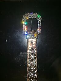 "B.B. simons ""fully loaded platinum"" Swarovski crystals Albertville, 55301"