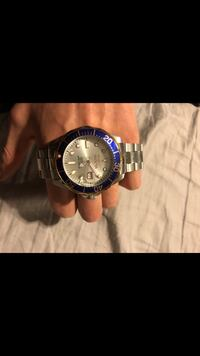 INVICTA SUBMARINER WATCH BLUE DIAL 2 tone with gold  Brampton, L6Z 1A9