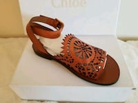 Chloe leather sandal flats 36.5 or 6 1/2 Woodbridge, 22191