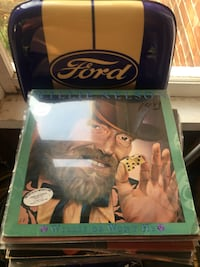 Large collection of willie Nelson large amounts of vintage vinyl and 72 tapes also available in the case and a 3 drawers oak holder case Trent Hills, K0L