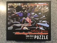 Harley-Davidson New Sealed Puzzle. 1,000 pcs. This is a current Collector's Edition. It is new and still has the factory seal. Northampton, 18067