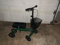 black and green knee scooter Herndon, 20170