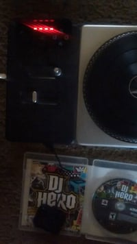 Dj hero game and turntable controller Tacoma, 98409