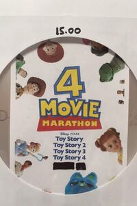 DVD Toy Story  (Trilogy-Part.1.2.3.4 On One Disc)