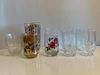 Assorted lot of glassware. Including one 70s vintage Libbey glass Toronto, M9B 0A2