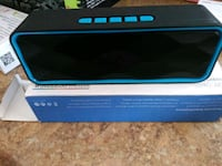black and blue portable speaker Bakersfield, 93306