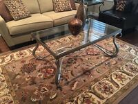 Wrought iron and beveled glass coffee table set. Coffee table and 2 end tables. Excellent condition. $325 OBO Whitchurch-Stouffville, L4A 0B7