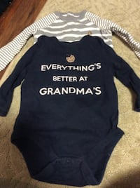 JUST REDUCED   MORE  2 bodysuits 6 - 12 m  Rockville