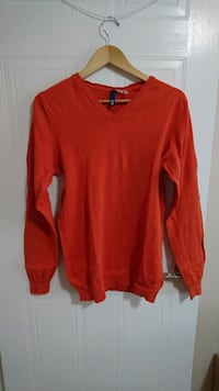 Medium Orange long Sleeve Sweater  London