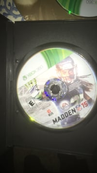 Madden NFL 15 Xbox 360 game disc Snellville, 30039