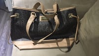 black and brown leather bag Toronto, M4P 1Y2