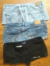 American Eagle / Hollister size 6/7 shorts lot Clarksville